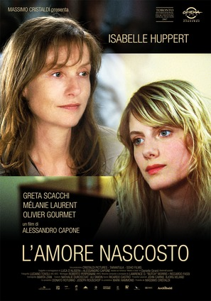 L'amour caché - Italian Movie Poster (thumbnail)