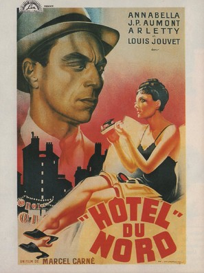 Hôtel du Nord - French Movie Poster (thumbnail)