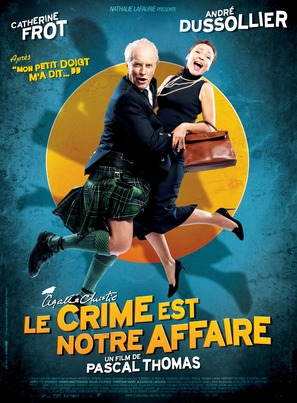 Le crime est notre affaire - French Movie Poster (thumbnail)