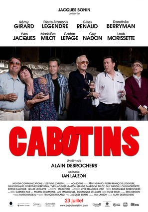 Cabotins - Canadian Movie Poster (thumbnail)