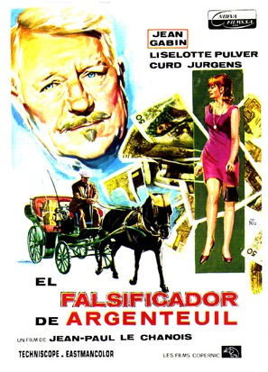 Jardinier d'Argenteuil, Le - Spanish Movie Poster (thumbnail)