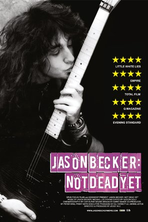 Jason Becker: Not Dead Yet - British Movie Poster (thumbnail)