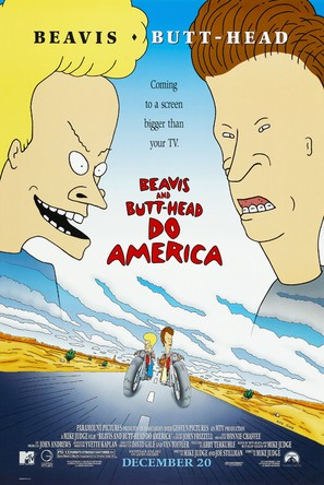 Beavis and Butt-Head Do America - Video release poster (thumbnail)