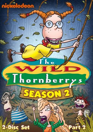 """The Wild Thornberrys"" - DVD movie cover (thumbnail)"