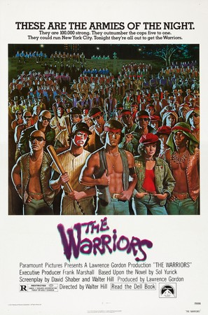 The Warriors - Theatrical movie poster (thumbnail)