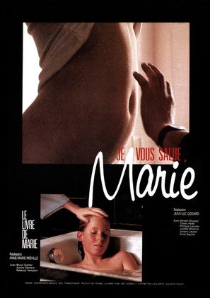 'Je vous salue, Marie' - French Movie Poster (thumbnail)