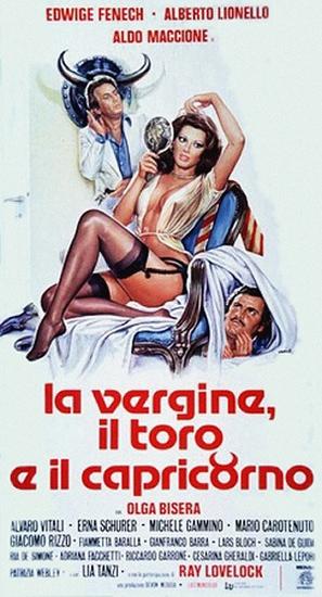 La vergine, il toro e il capricorno - Italian Theatrical movie poster (thumbnail)