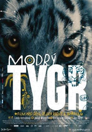Modrý tygr - Czech Movie Poster (thumbnail)