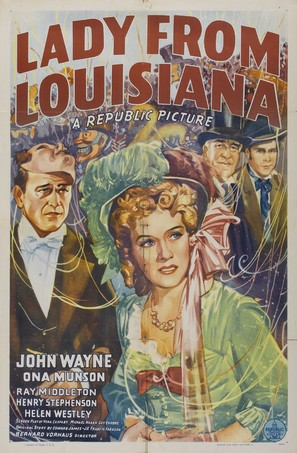 Lady from Louisiana - Movie Poster (thumbnail)