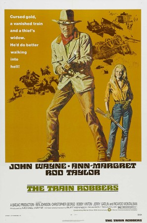 The Train Robbers - Movie Poster (thumbnail)