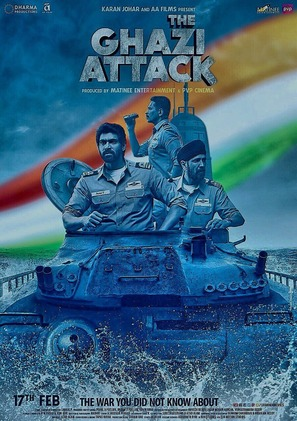 The Ghazi Attack - Indian Movie Poster (thumbnail)