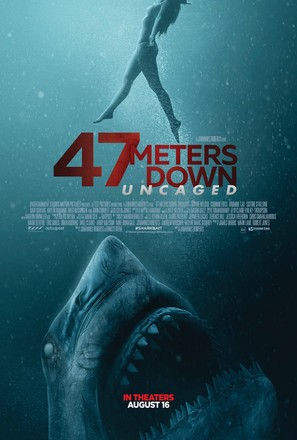 47 Meters Down: Uncaged - Movie Poster (thumbnail)