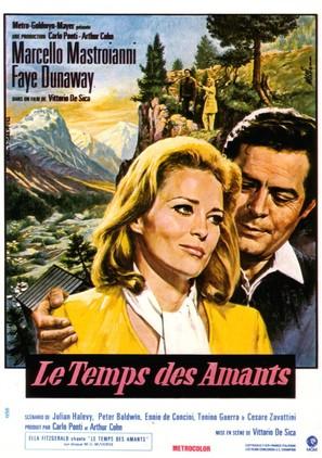 Amanti - French Movie Poster (thumbnail)