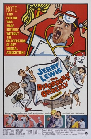 The Disorderly Orderly - Movie Poster (thumbnail)