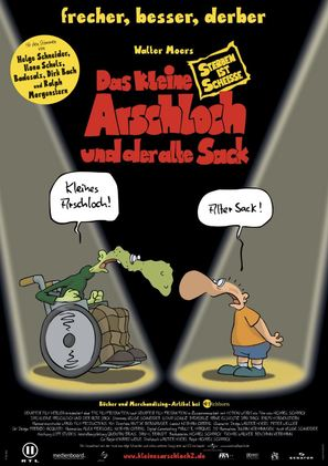 Das kleine Arschloch und der alte Sack - Sterben ist Scheiße - German poster (thumbnail)