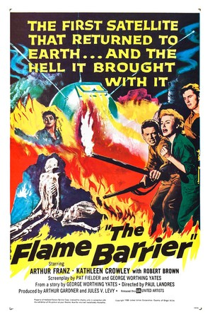 The Flame Barrier - Movie Poster (thumbnail)