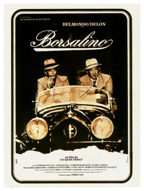 Borsalino - French Movie Poster (thumbnail)