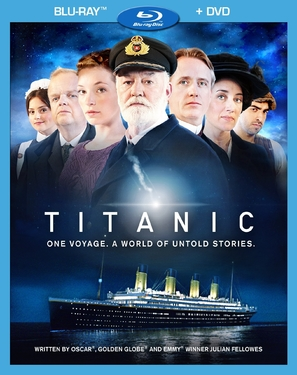 """Titanic"" - Blu-Ray movie cover (thumbnail)"