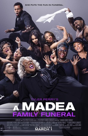 Tyler Perry's a Madea Family Funeral - Movie Poster (thumbnail)