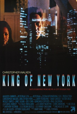 King of New York - Movie Poster (thumbnail)