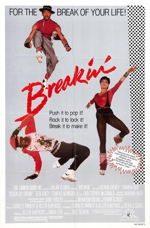 Breakin' - Movie Poster (thumbnail)