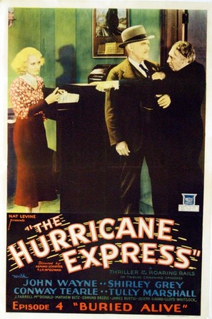 The Hurricane Express - Movie Poster (thumbnail)