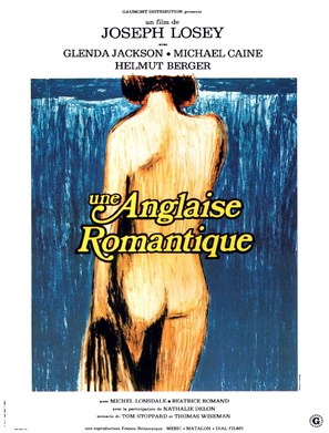 The Romantic Englishwoman - French Movie Poster (thumbnail)
