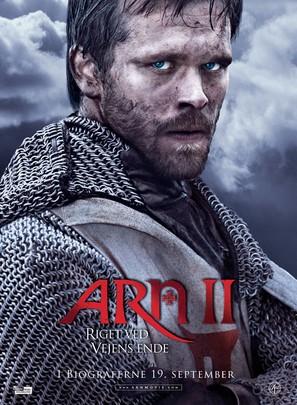 Arn - Riket vid vägens slut - Danish Movie Poster (thumbnail)