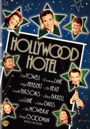 Hollywood Hotel - DVD movie cover (thumbnail)