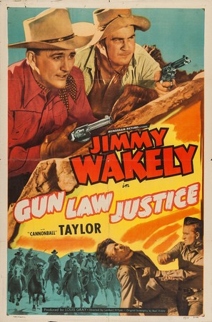 Gun Law Justice - Movie Poster (thumbnail)