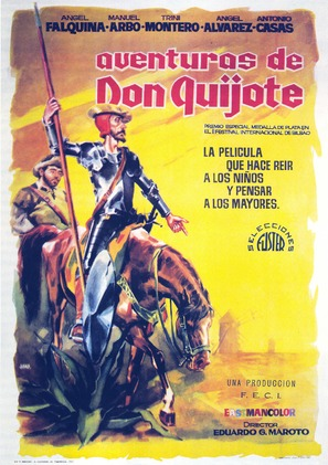Aventuras de Don Quijote - Spanish Movie Poster (thumbnail)