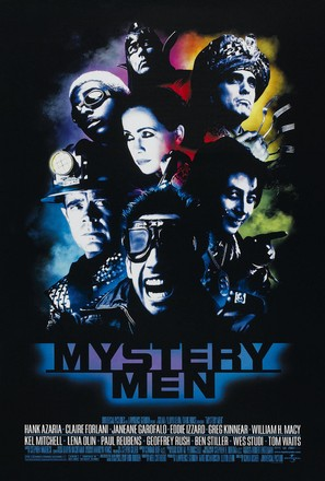 Mystery Men - Theatrical poster (thumbnail)
