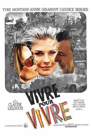 Vivre pour vivre - French Movie Poster (thumbnail)