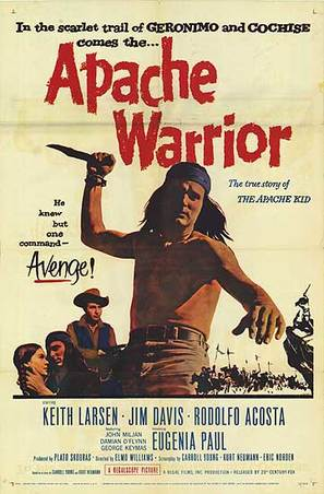 Apache Warrior - Movie Poster (thumbnail)