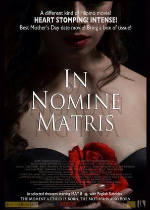 In nomine matris - Philippine Movie Poster (thumbnail)
