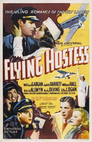 Flying Hostess - Movie Poster (thumbnail)