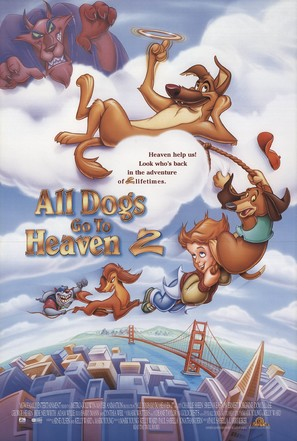All Dogs Go to Heaven 2 - Movie Poster (thumbnail)