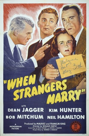 When Strangers Marry - Movie Poster (thumbnail)