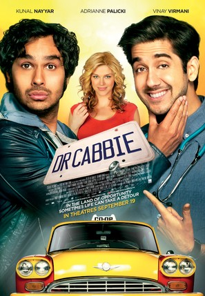 Dr. Cabbie - Canadian Movie Poster (thumbnail)