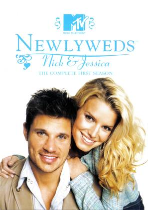 """""""Newlyweds: Nick & Jessica"""" - DVD movie cover (thumbnail)"""