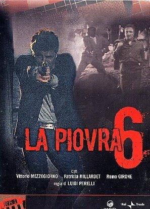 """La piovra 6 - L' ultimo segreto"" - Italian DVD cover (thumbnail)"
