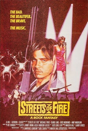 Streets of Fire - British Movie Poster (thumbnail)