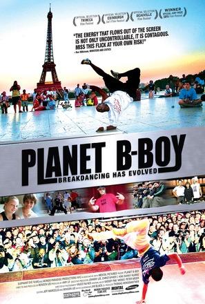 Planet B-Boy - Canadian Movie Poster (thumbnail)