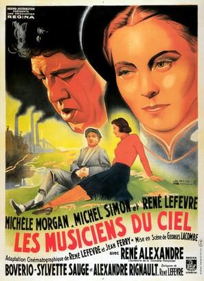 Musiciens du ciel, Les - French Movie Poster (thumbnail)