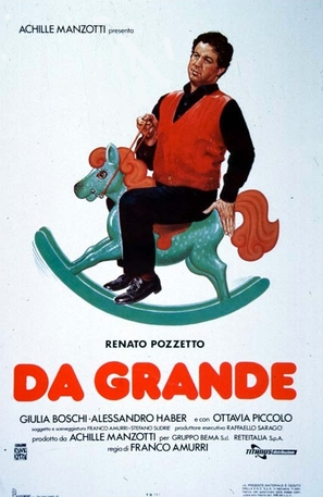 Da grande - Italian Movie Poster (thumbnail)
