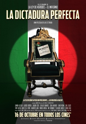La dictadura perfecta - Mexican Movie Poster (thumbnail)