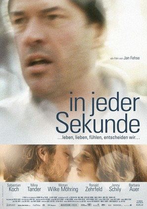 In jeder Sekunde - German Movie Poster (thumbnail)