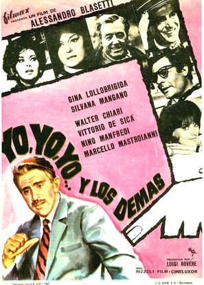 Io, io, io... e gli altri - Spanish Movie Poster (thumbnail)