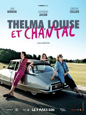 Thelma, Louise et Chantal - French Movie Poster (thumbnail)