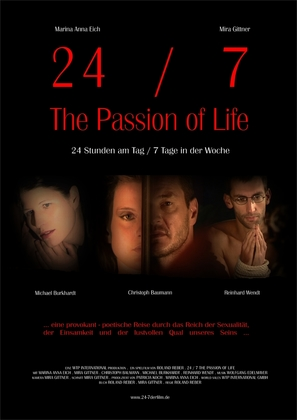 24-7: The Passion of Life - German Movie Poster (thumbnail)
